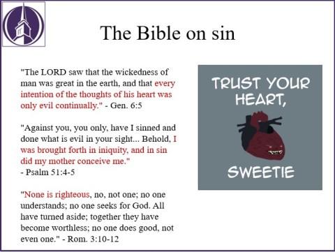 BibleOnSin